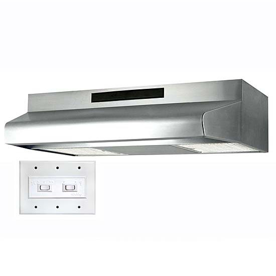 Air King ADA Compliant Energy Star Under Cabinet Mount Range Hoods