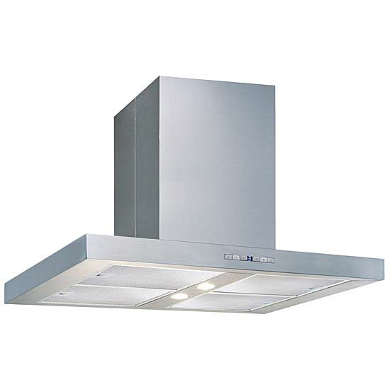 Air King Pamplona Stainless Steel Series Island Mount Range Hood, 600 CFM