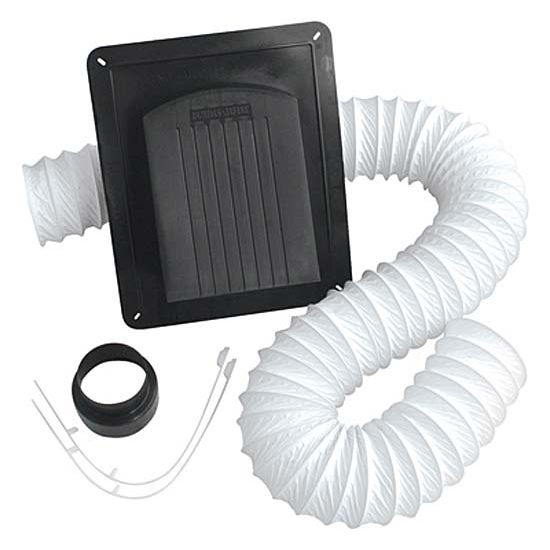 """Air King 3"""" to 4"""" Roof Cap with Ducting"""