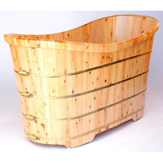 "63"" Cedar Bathtub"