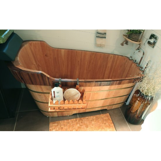 "59"" Bathtub w/ Chrome Tub Filler"