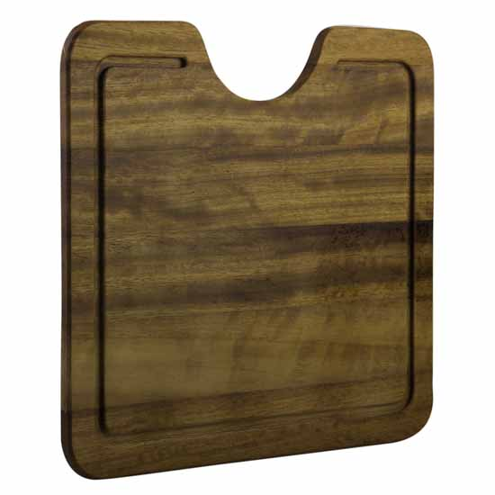 "Alfi brand Wood Cutting Board for AB3020, AB2420, AB3420 Granite Sinks, 16-1/2"" W x 14-1/2"" D x 3/4"" H"