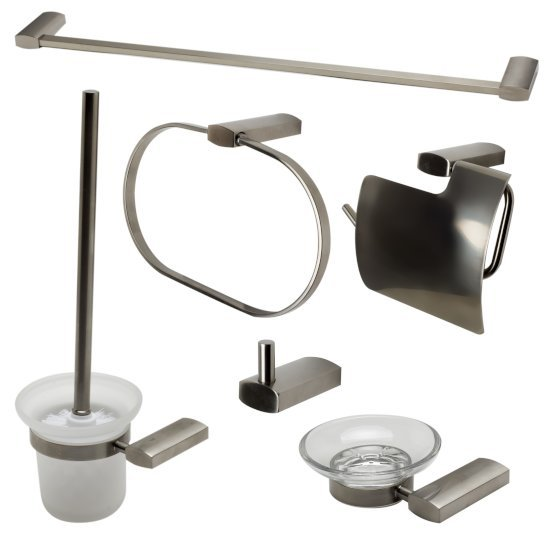Brushed Nickel 6-Piece Set