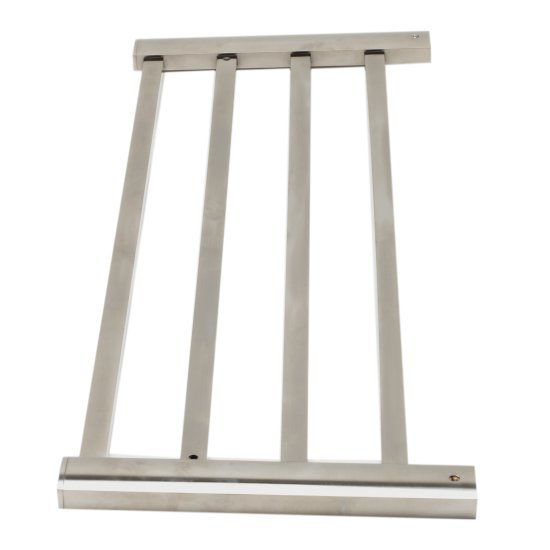 "Alfi brand Brushed Nickel 24"" Towel Bar & Shelf Bathroom Accessory, 23-3/4"" W x 8-3/4"" D x 3-5/8"" H"