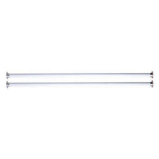 "Alfi brand Undermount Farm Sink Installation Kit 39"" White Metal Rods, 1"" W x 39"" D x 1"" H"