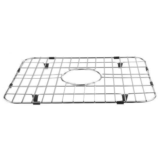 "Alfi brand Solid Stainless Steel Kitchen Sink Grid, 14-1/2"" W x 17-3/8"" D x 1"" H"