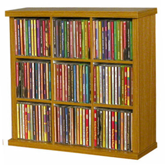 American Furnishings 9 Slot Cubby 18-1/4'' W x 6-3/4'' D x 18'' H, Available in Black, Oak or White