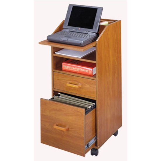 Laptop Cart, Cherry
