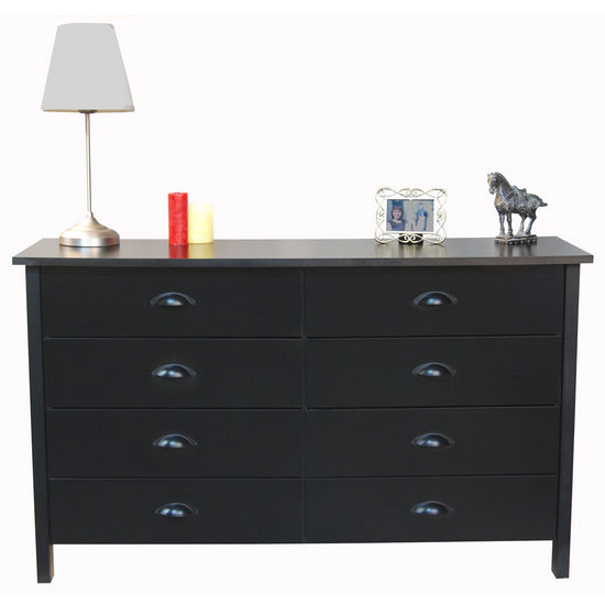 8 Drawer Nouvelle Lowboy