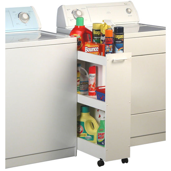 Laundry Caddy Rolling Organizer Cart For Laundry Room