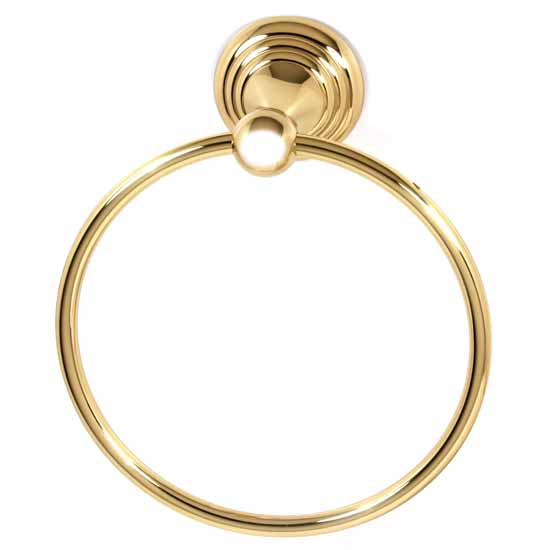 "Alno Embassy Series 7"" Towel Ring"