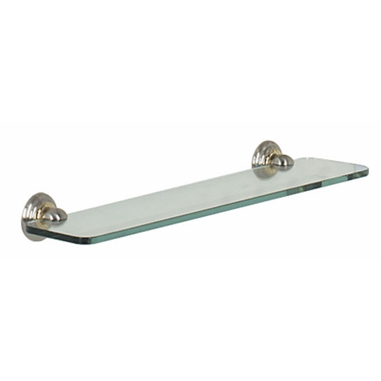 "Alno Embassy Series 18"" Glass Shelf"
