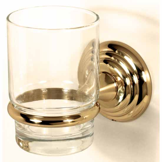 Alno Embassy Series Glass Tumbler with Holder