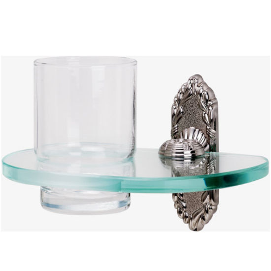 Alno Glass Tumbler and Holder