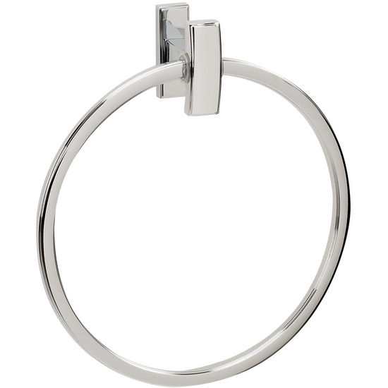 Alno Arch Series Towel Ring, Polished Chrome