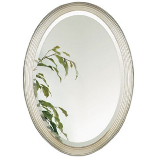 23 Creative Oval Framed Bathroom Mirrors