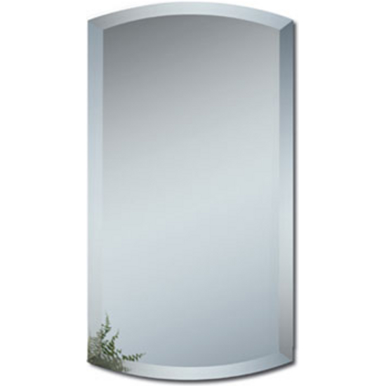 Alno Frameless Beveled Arch Bathroom Mirror