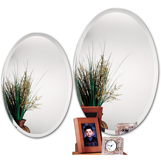 Alno Frameless Oval Bathroom Mirror