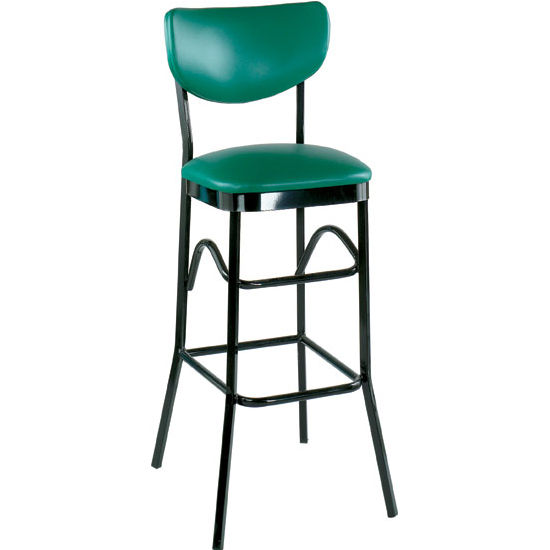 Alston AQ-1910-30-1 Paddle Back Bar Stool