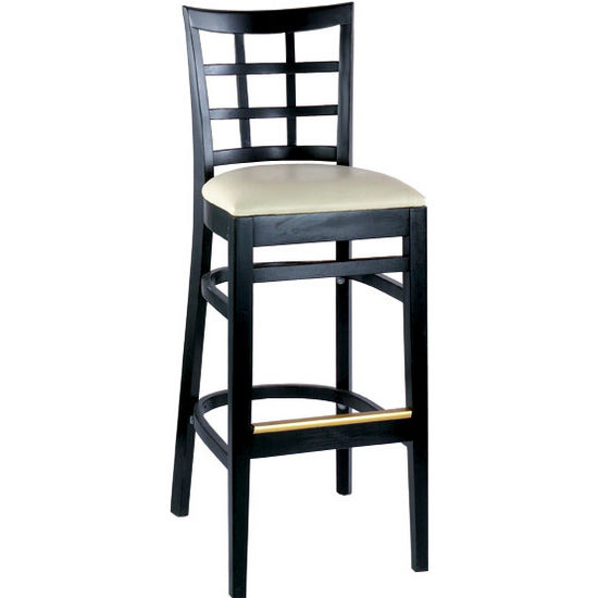 Alston AQ-210-30-1 Latticeback Bar Stool