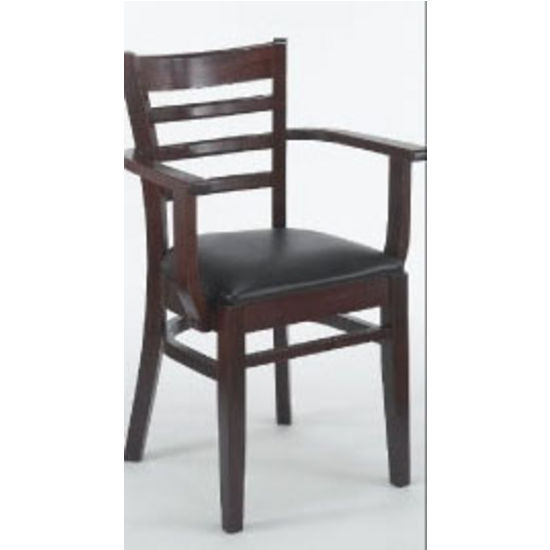 Alston - Slat Back Arm Chair