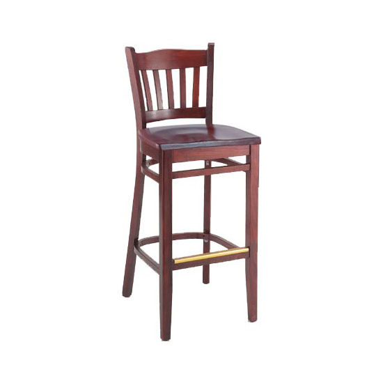 Alston Classico Stool with Wood Seat