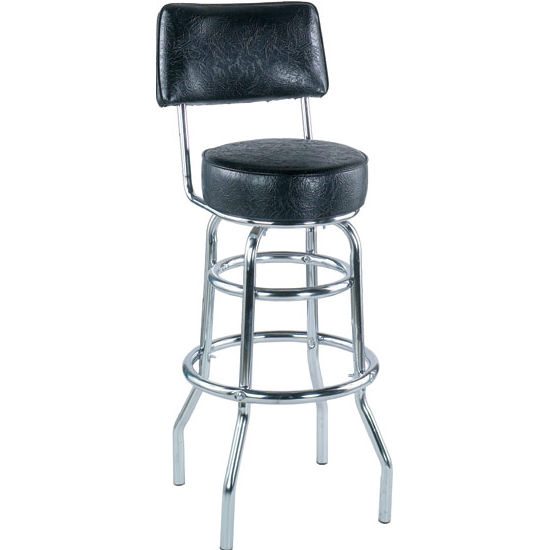 Alston AQ-4210-30-1 Double Ring Bar Stool