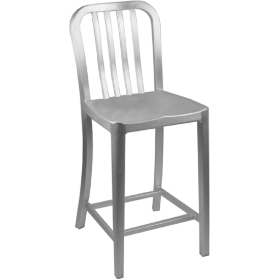 "Alston Aluminum Dining Chair 15""Wx15""Dx33.5""H"