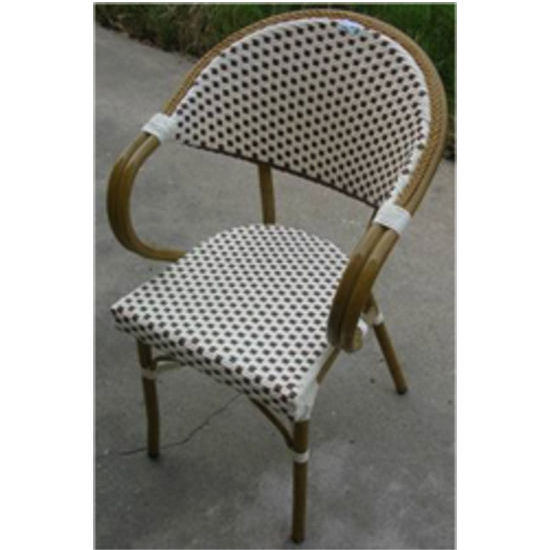 Alston - Aluminum Woven Arm Chair