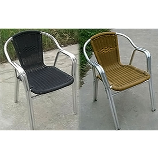 Alston - Aluminum Wicker Chair