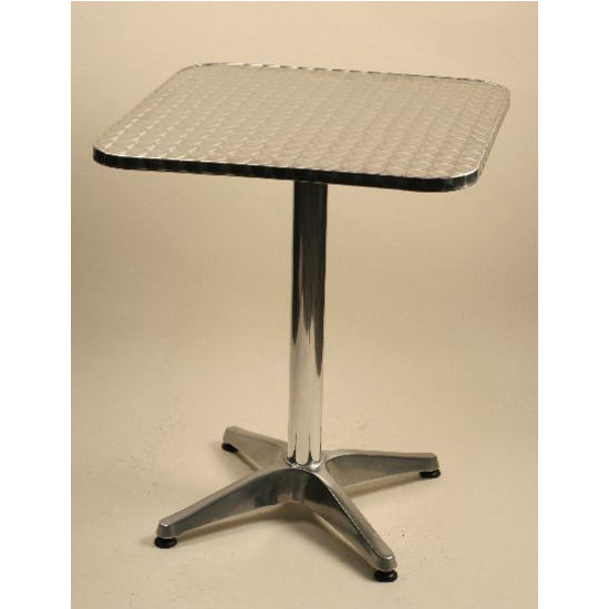 Flip Top Aluminum Bar Height Tables by Alston