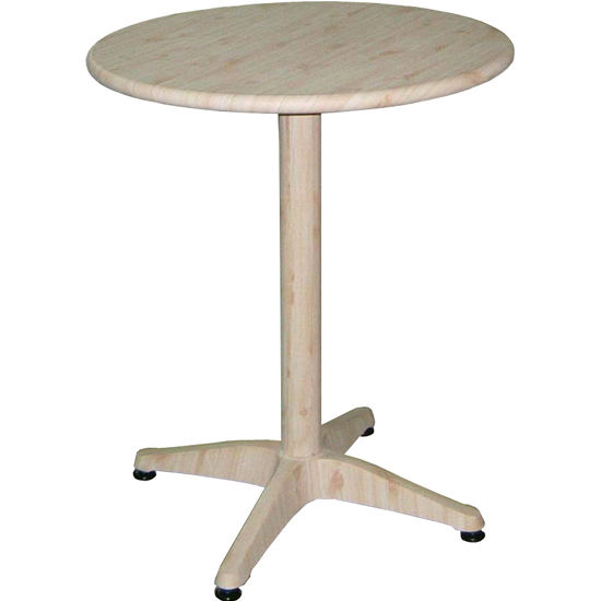 "30"" Round Aluminum Table"