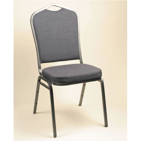 Alston Diamond Stacking Chair with Upholstered Seat & Back