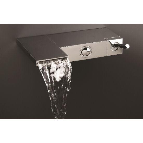 Aquatica Modul Wall Mounted Bath Filler Faucet, Chrome