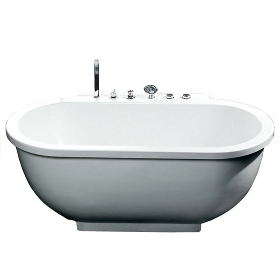 Ariel Platinum Collection 71 Quot W Whirlpool Bathtub In White