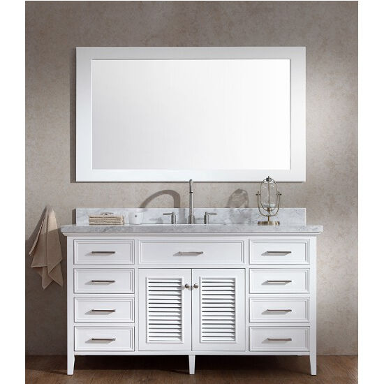 Kensington Single Basin Bathroom Vanity With Shutter Style