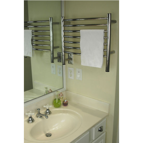 Amba Towel Warmers Jeeves Model H Straight, Polished Finish