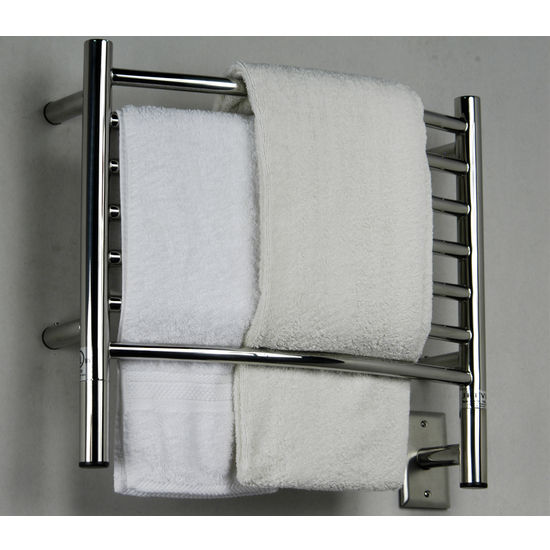 Amba Towel Warmers Jeeves Model H Curved, Polished Finish