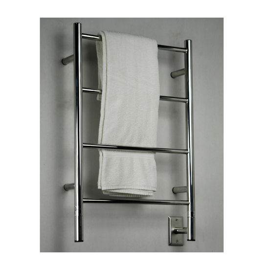 Amba Towel Warmers Jeeves Model I Straight, Polished Finish