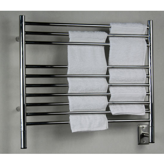 Amba Towel Warmers Jeeves Model K Straight, Polished Finish