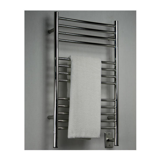 Amba Towel Warmers Jeeves Model C Straight, Polished Finish