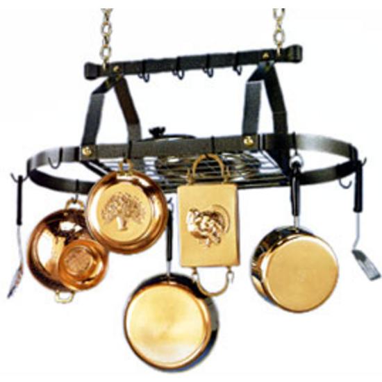 Oval Pot Rack by Blackburst Designs