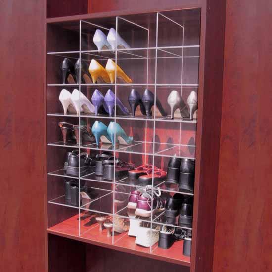 Custom Inserts - Shoe dividers 2