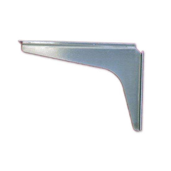 "Best Brackets USA Made ADA Stainless Steel Support Bracket, 12 Gauge, 8"" D x 12"" H, Sold As Pair"