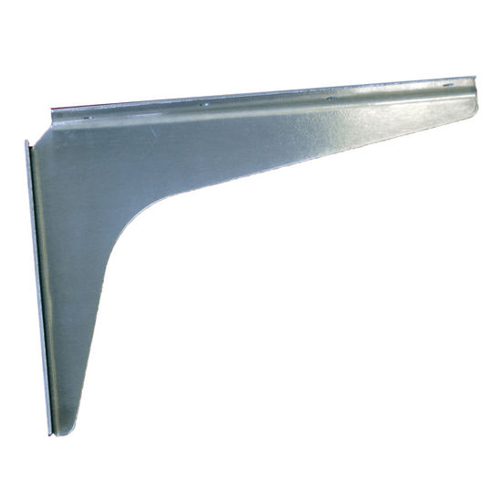 "Best Brackets Stainless Steel Bracket, 8"" D x 12"" H, 2 Pcs."