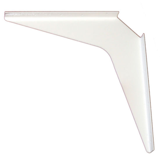 "Work Station And Counter Top Support Bracket, 18"" D x 18"" H, Primer Finish, 6 Pcs."