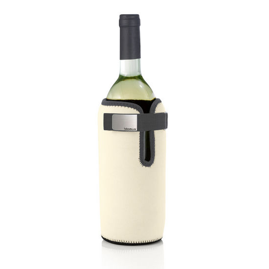 Blomus Wine Cooling Collar, Sand