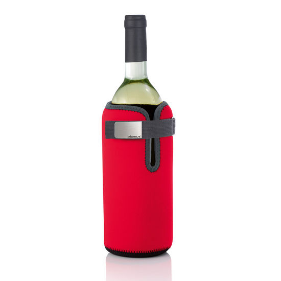 Blomus Wine Cooling Collar, Red