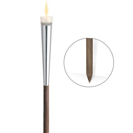 Blomus - Garden Torch with Wood Stake