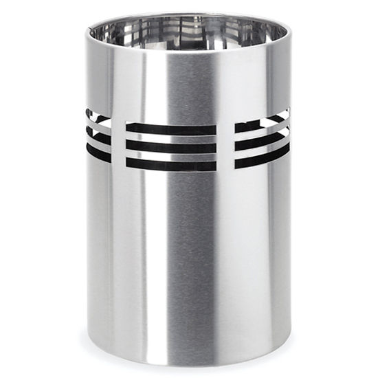 Blomus Brushed Stainless Steel Bathroom Bin